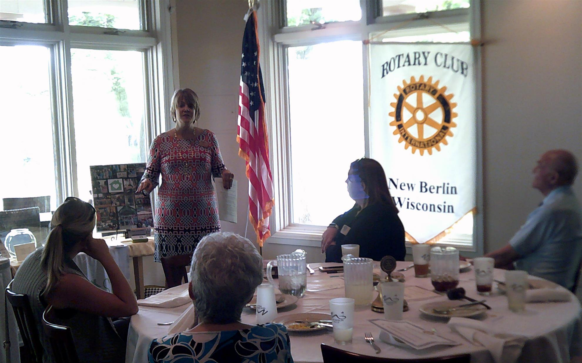 Rotary Club of New Berlin, New Berlin Rotary, Karen Schlindwein