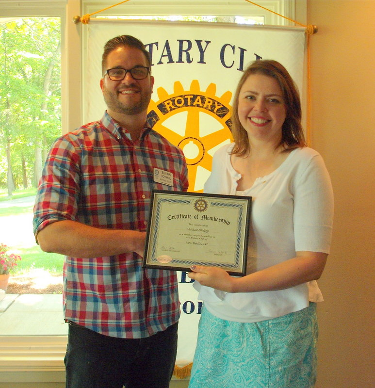 Melissa Palfery, New Berlin Rotary, Rotary Cub of New Berlin