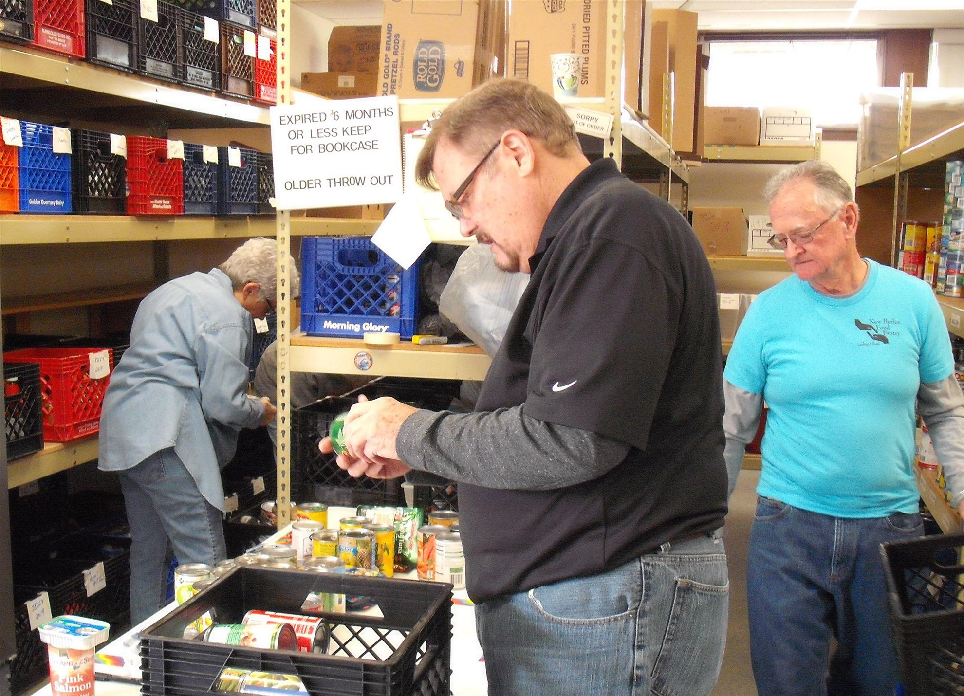 New Berlin Rotary, Rotary Club of New Berlin, New Berlin Food Pantry