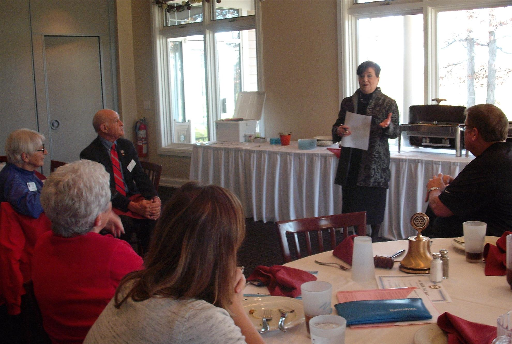 Gail Rust, New Berlin Rotary, Rotary Club of New Berlin