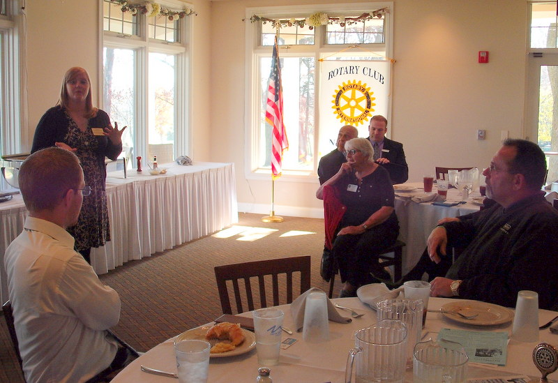 Heather Stoskoph, Interfaith Senior Programs, Rotary Club of New Berlin, New Berlin Rotary