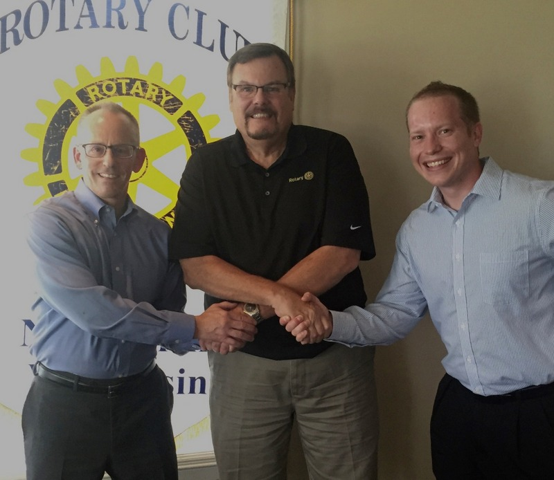 Rotary Club of New Berlin, New Berlin Rotary, Jeff Kortes, Randy Wilinski