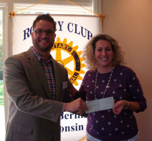 Natalie Baertschy, School District of New Berlin, Rotary Club of New Berlin, New Berlin Rotary