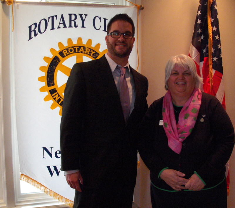 Rosanne McGuire, Girls Scouts of Wisconsin Southeast, Rotary Club of New Berlin, New Berlin Rotary