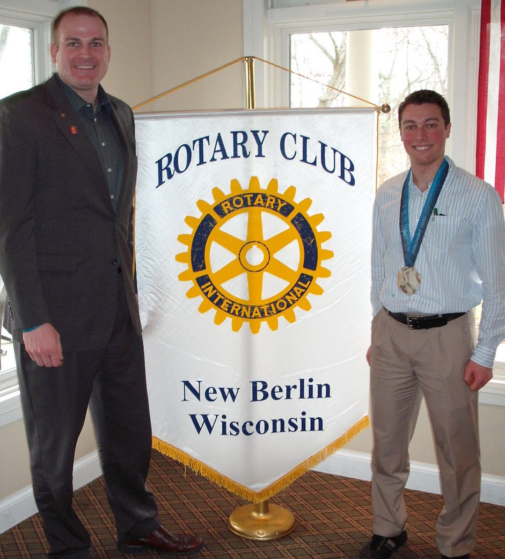Rotary Club of New Berlin, New Berlin Rotary, Trevor Marsicano