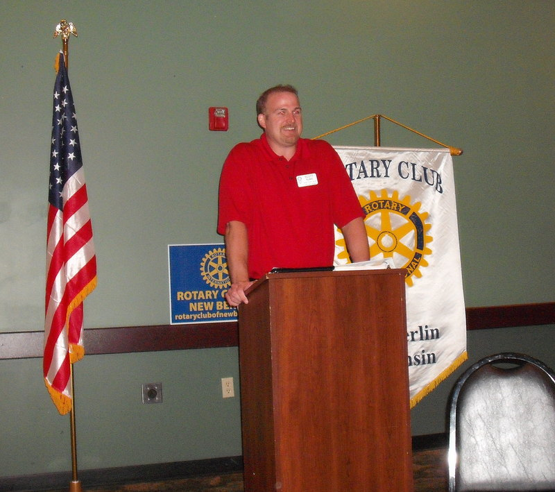 Scott Klaas, Rotary Club of New Berin, New Berlin Rotary
