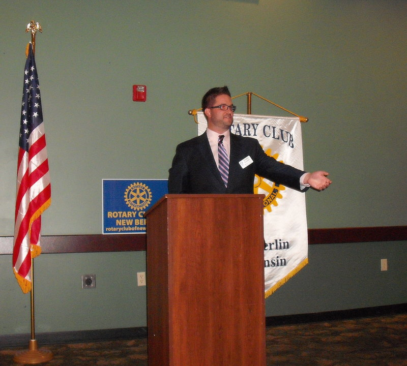 Shawn Schnabl, Rotary Club of New Berlin, New Berlin Rotary