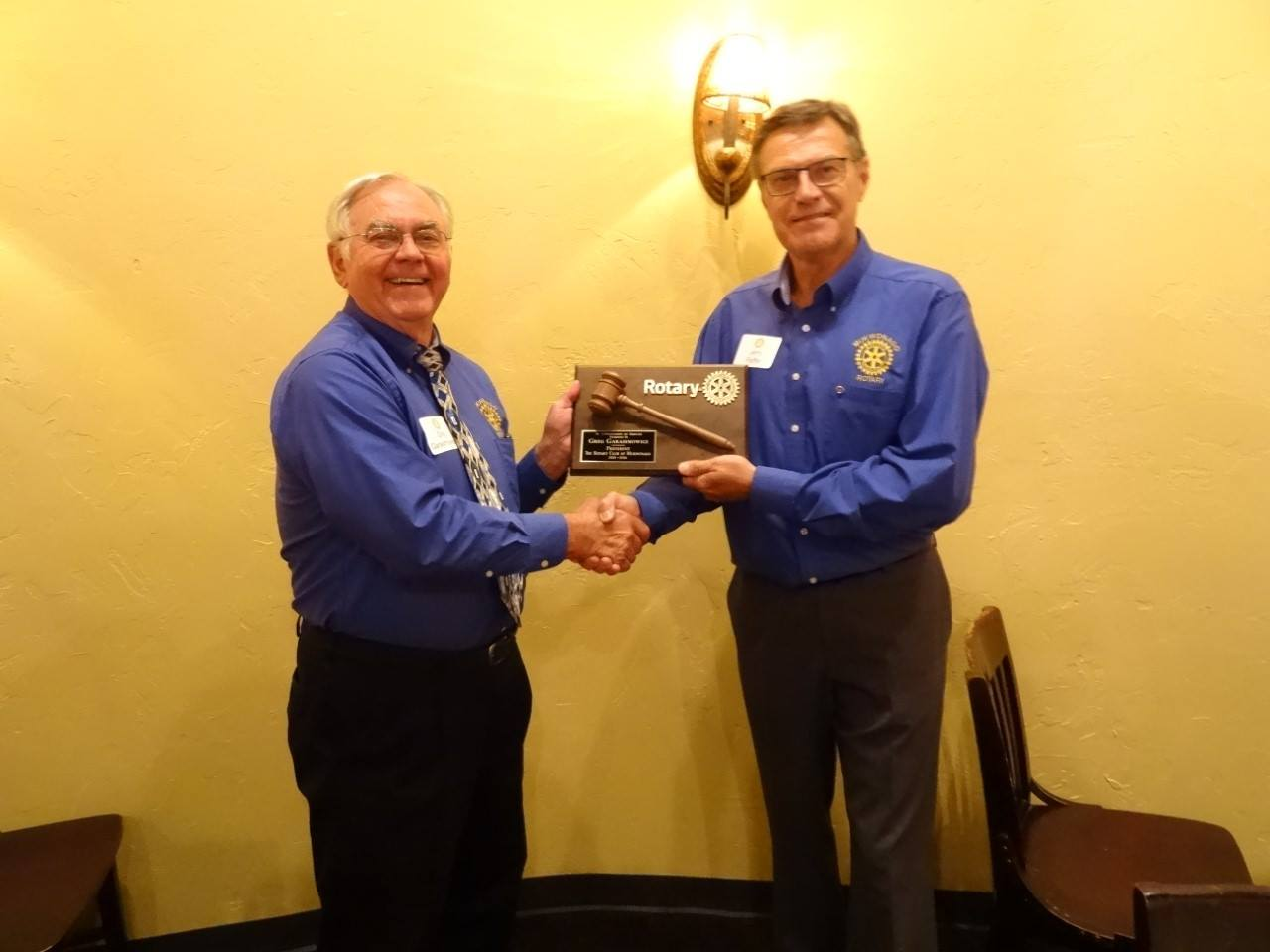 Changing of the Guard | Rotary Club of Mukwonago