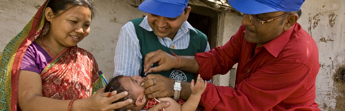 International Reach: Polio Plus Program