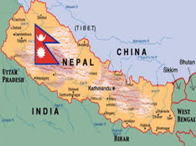 Image result for nepal in world map