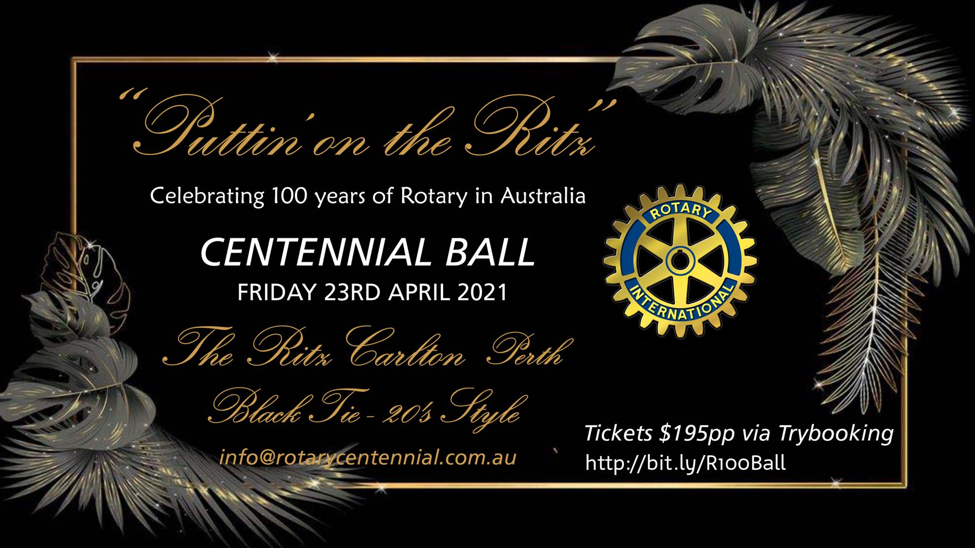 Rotary Centennial Ball