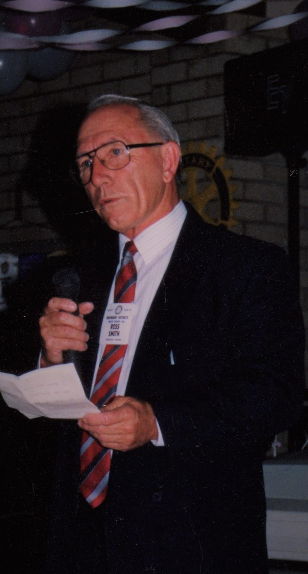 The Late Ross Smith