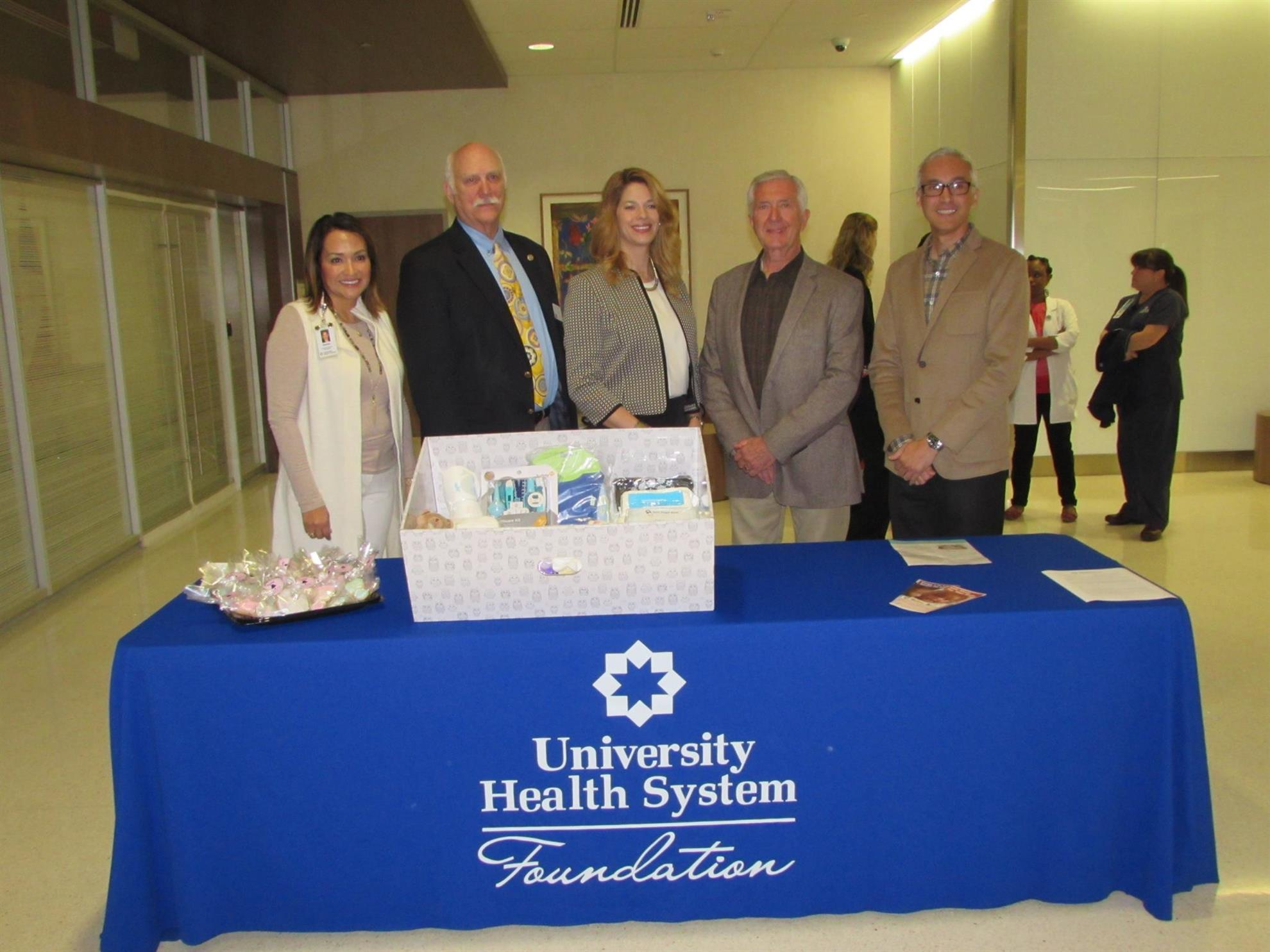 First Baby Box given at University Hospital | Rotary Club of