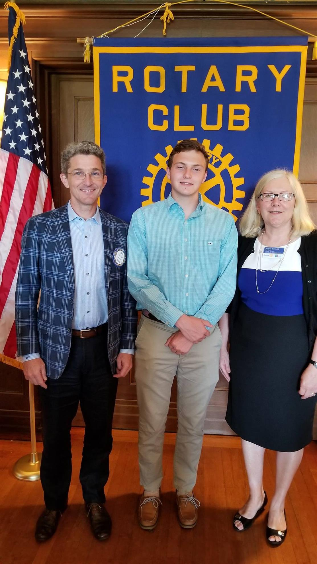 2016 Rotary Dorrico Scholarship Award Winner Joe Peiser