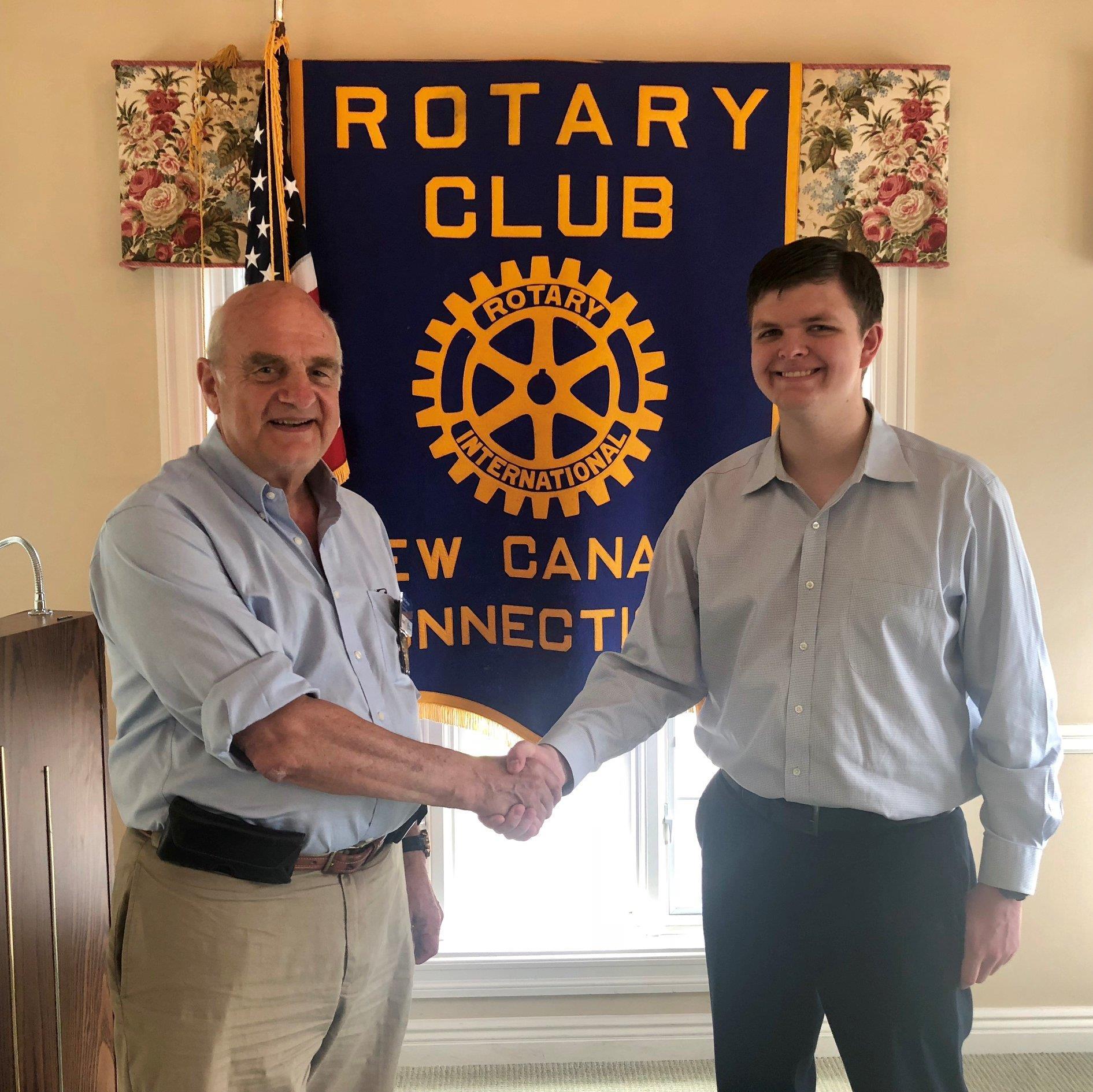 2018 Rotary Dorrico Scholarship Award Winner Nathaniel Glay