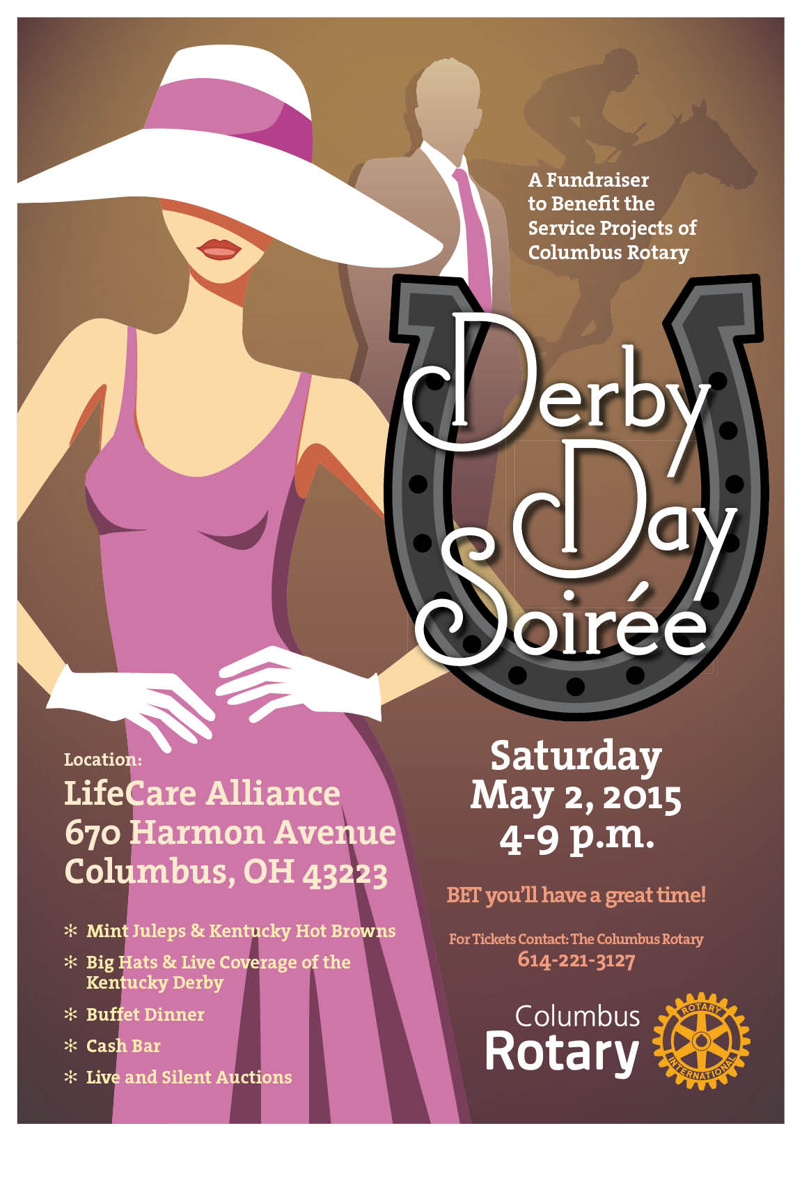 Stories Columbus Rotary Service Above Self Switch Wiring Furthermore 3 Position Derby Day Soiree 2015