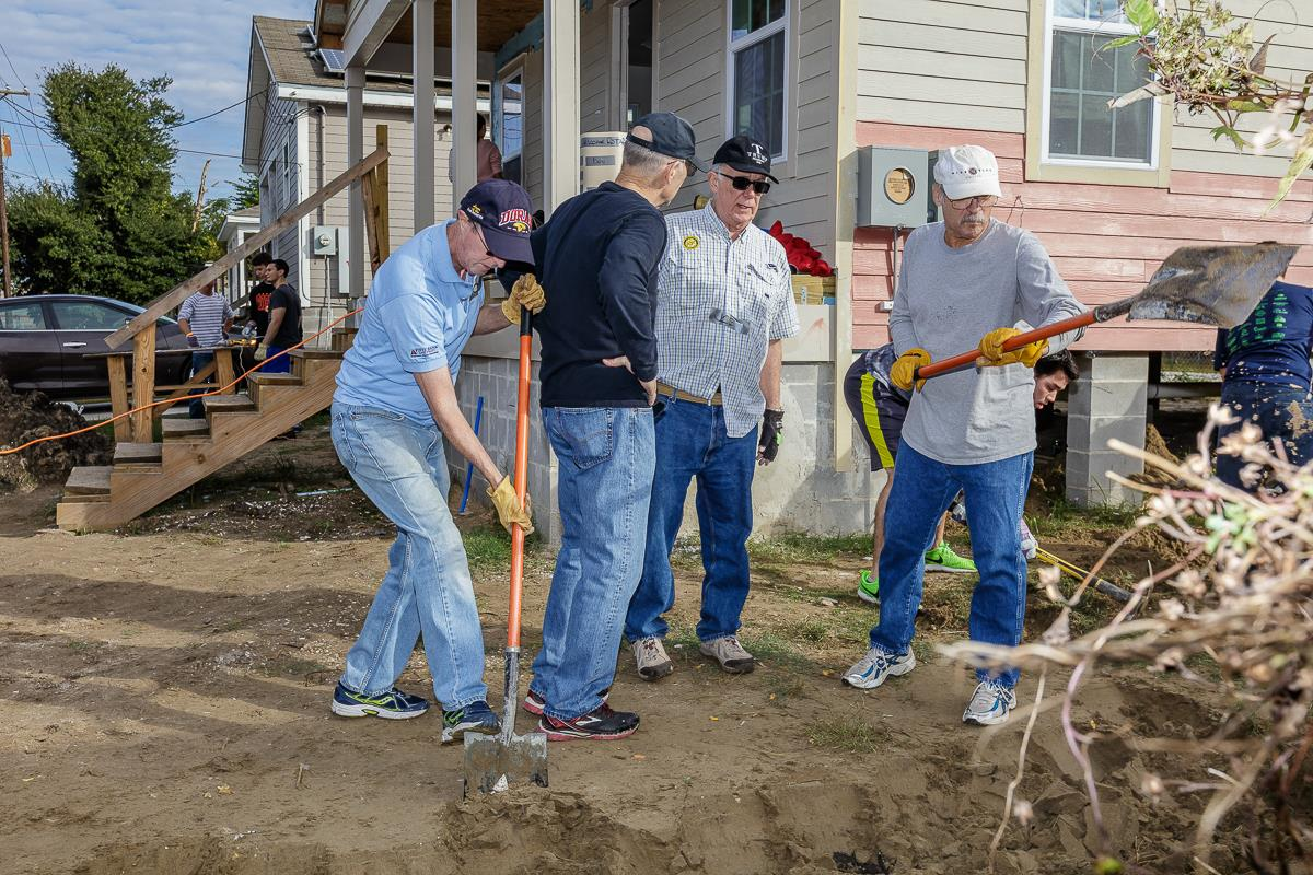 Build House Online Habitat For Humanity Work Day 2016 Rotary Club Of Metairie