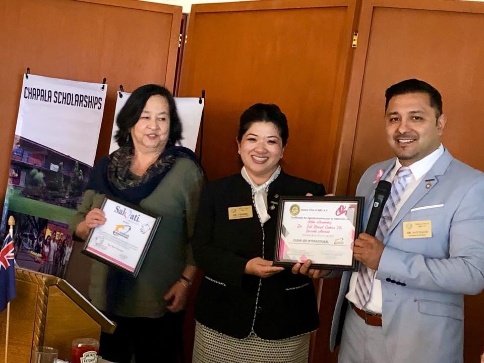 Antoinette Brahm Certificate of Sponsorship