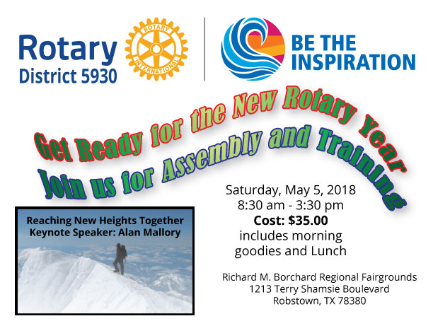 Stories | Rotary Club of Rockport