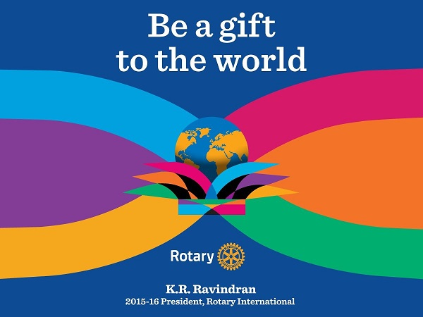 Unveiling the Rotary Foundation Theme for 2015-16