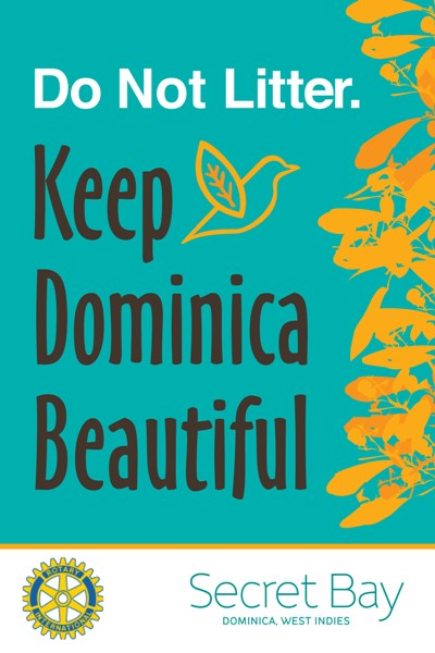 Keep Dominica Clean Sign