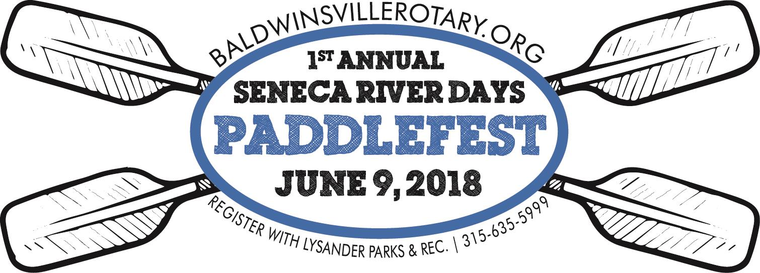 seneca river days paddlefest 2018 logo