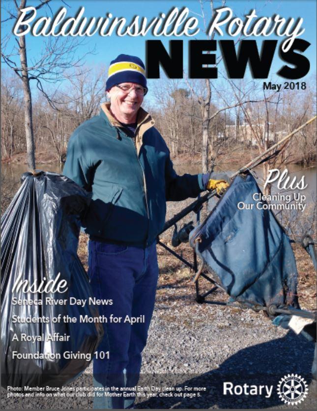 baldwinsville rotary newsletter may 2018