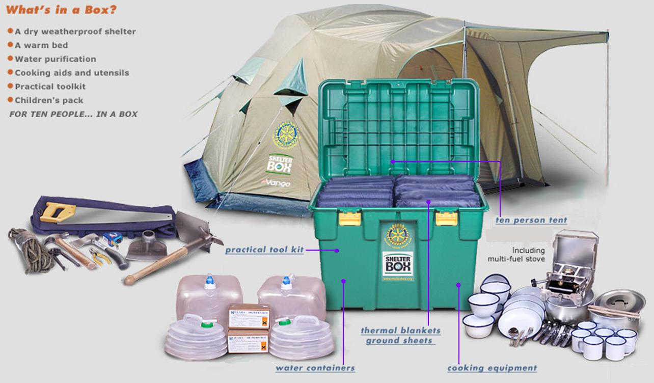 New Rotary/ShelterBox Agreement   Rotary E-Club of Canada One
