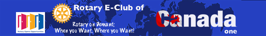 E-Club of Canada One logo