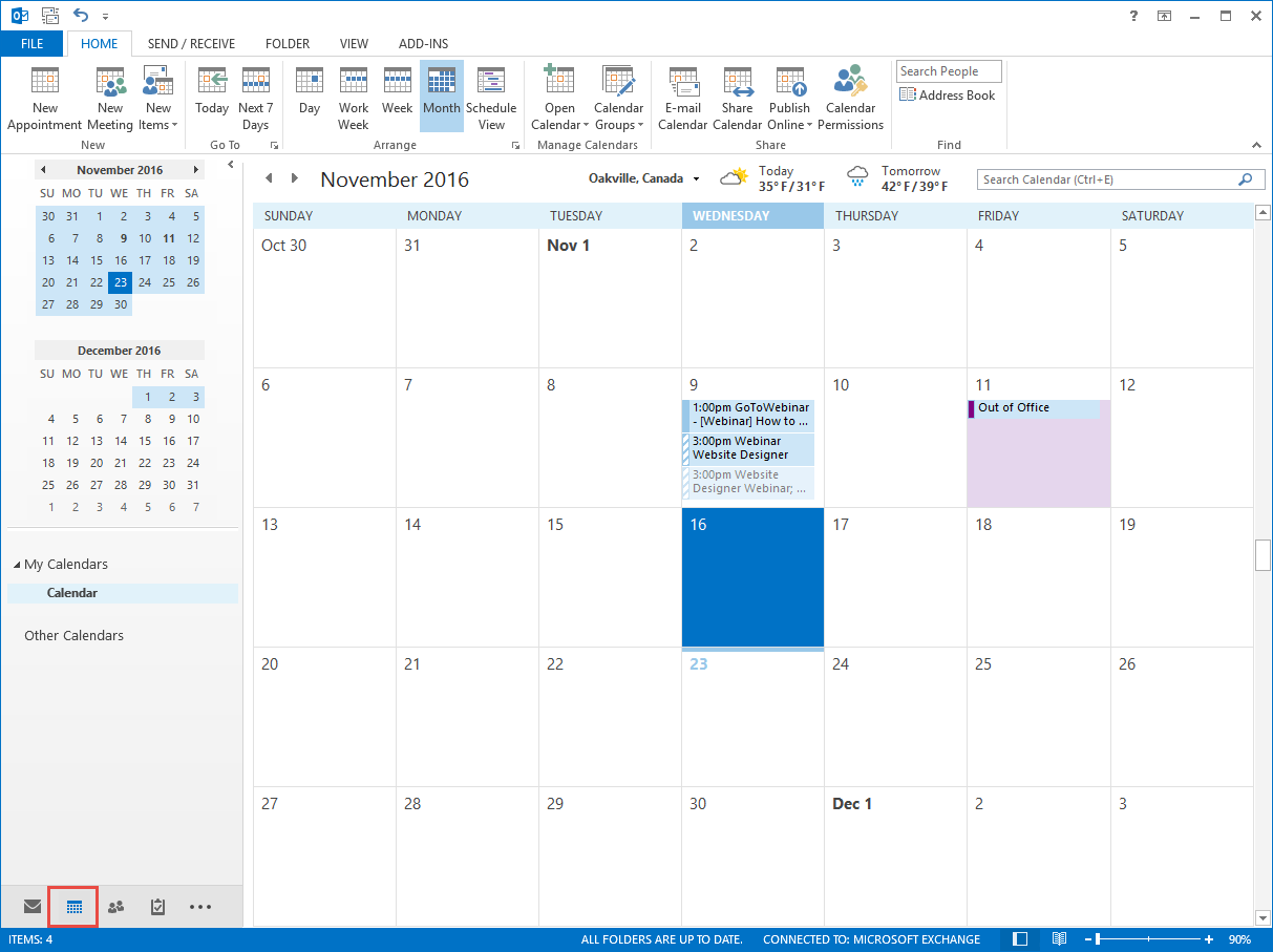 Adding a Calendar Subscription with Outlook - ClubRunner Support Center