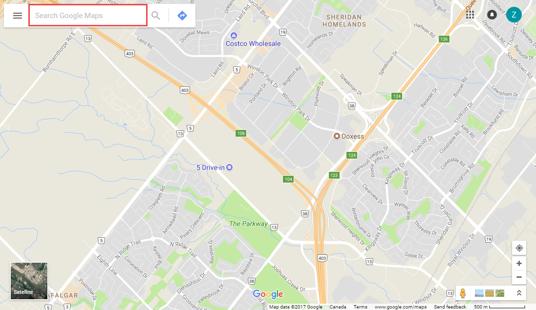 How To Find A Location S Latitude Longitude In Google Maps Clubrunner Support Center