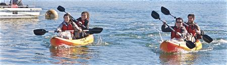 Kayaking for Fun & Ocean Trash Cleanup