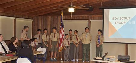 Proud Charter sponsor of Irvine Scout Troop 645; 40-year legacy of adventure and achievement