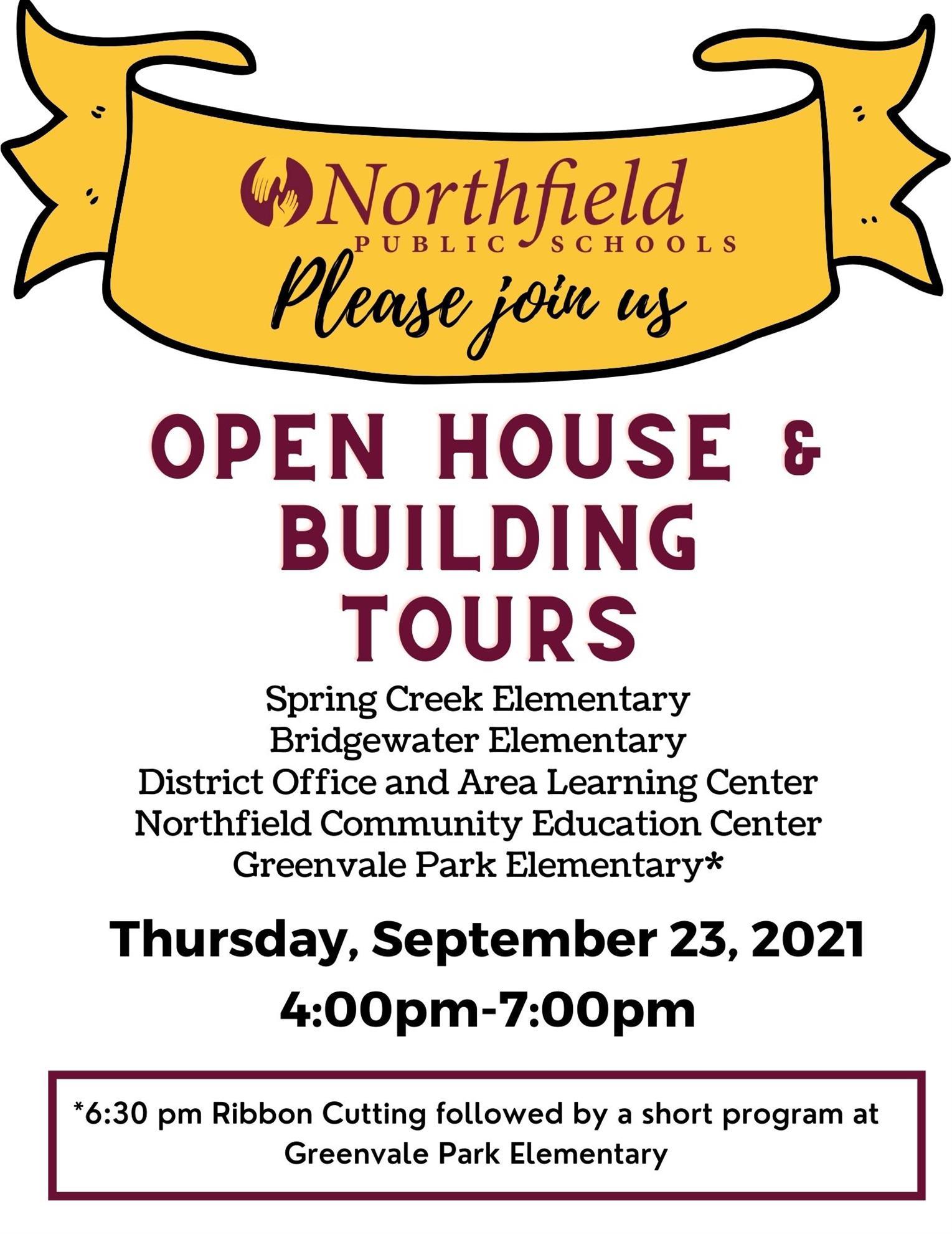 School Open House Invitation