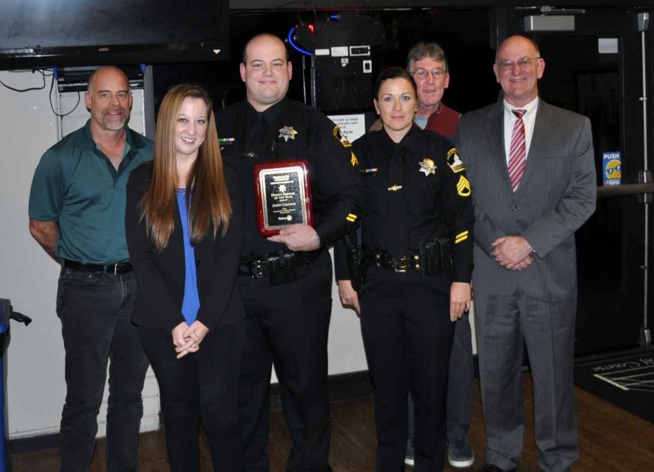 SACRAMENTO COUNTY SHERIFF AWARD | Rotary Club of Carmichael