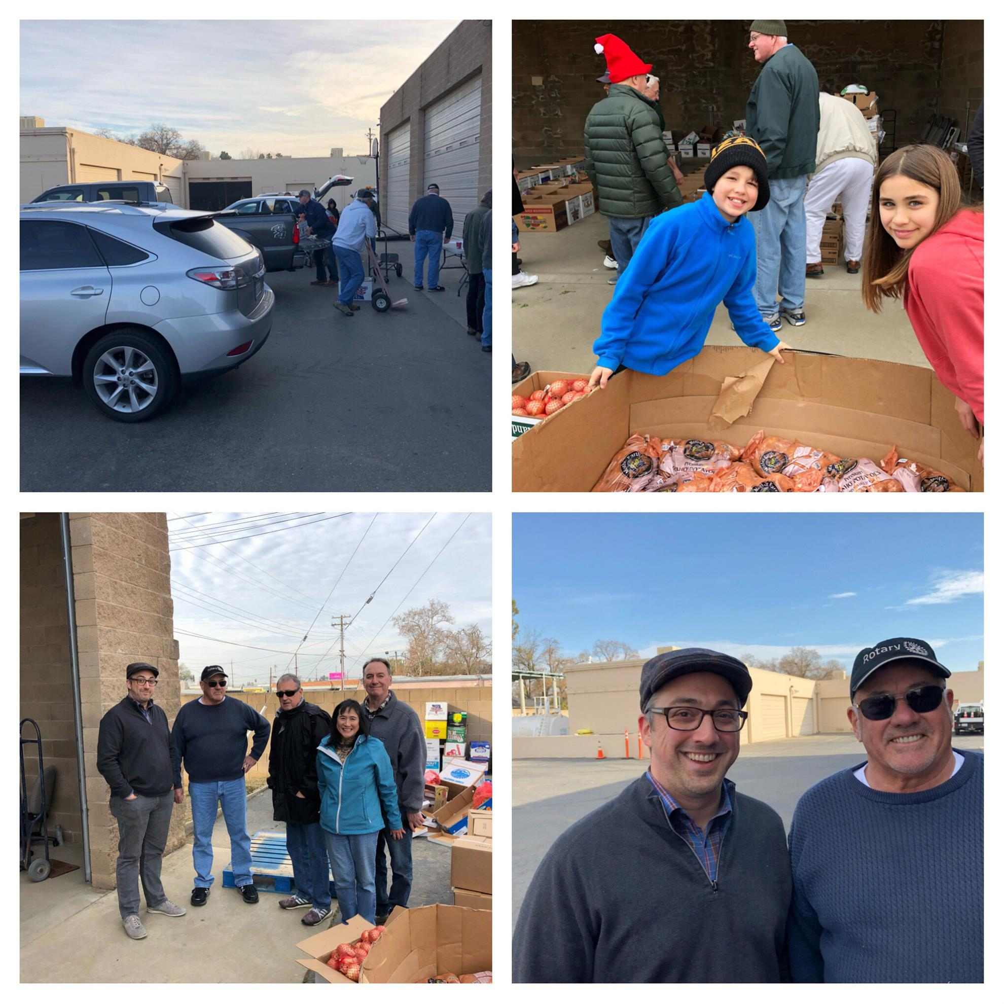 ... Plath for his leadership of the project and to high schools in the area  for providing us with the names and addresses of the needy families. Pics  below:
