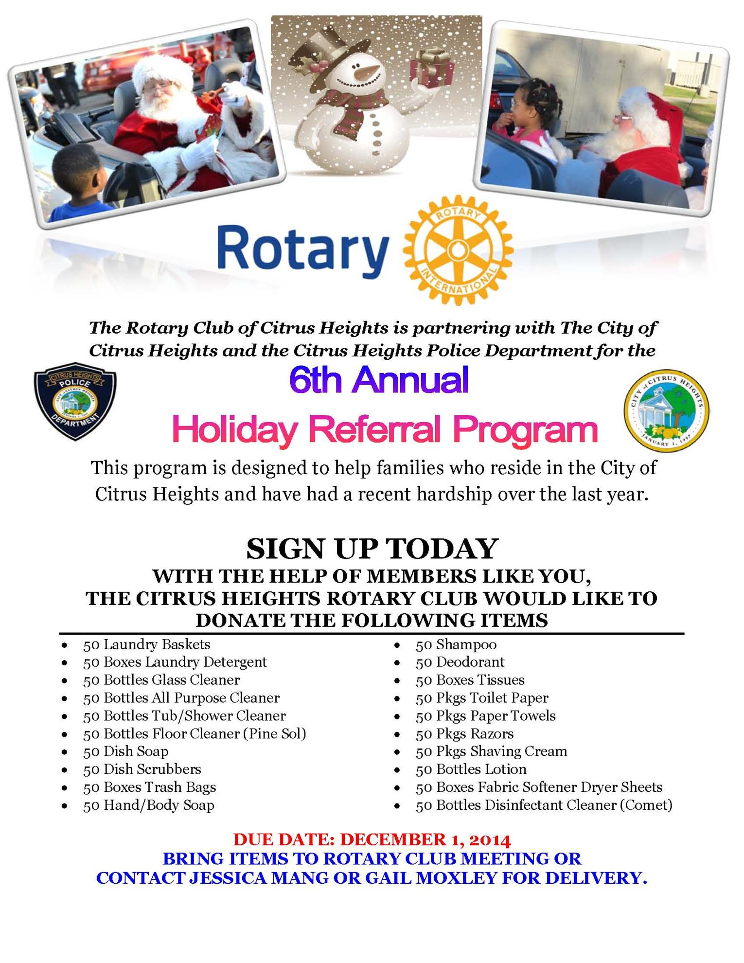 Stories Rotary Club Of Citrus Heights