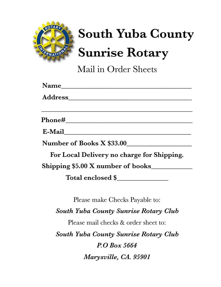 A Day in the Life of Yuba Sutter- Book Fundraiser | Rotary