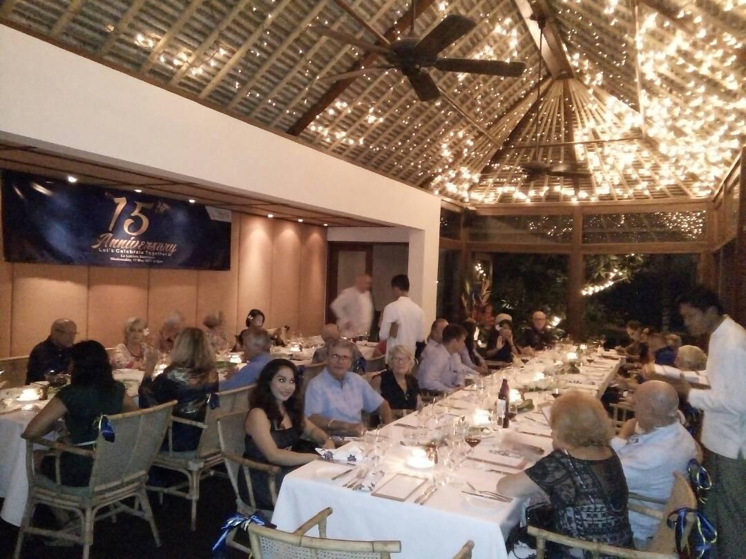 15th anniversary dinner rotary club of bali seminyak
