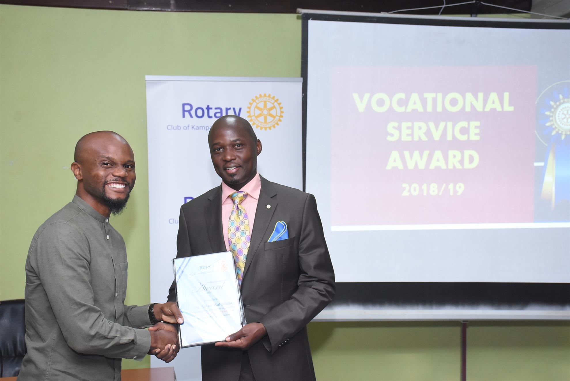 Fellow receives serviced