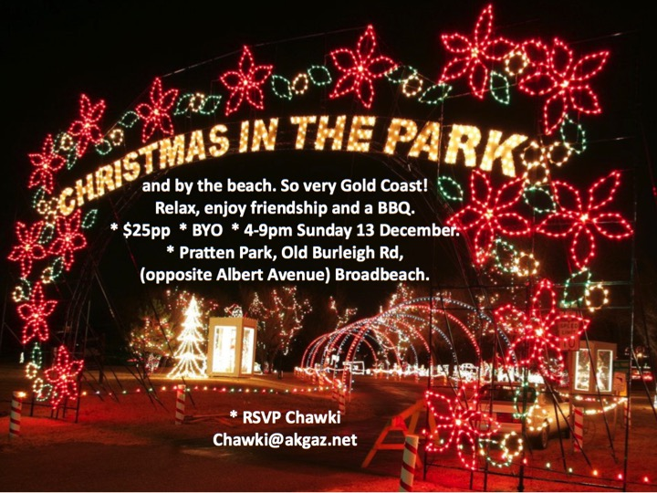 Christmas in the Park | Rotary Club of Gold Coast