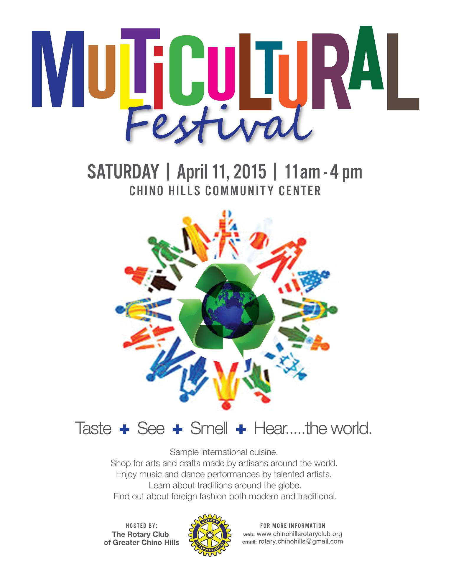 Multicultural Festival flyer photo