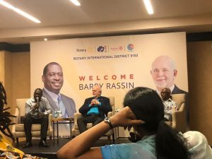Image result for barry rassin visit to ghana