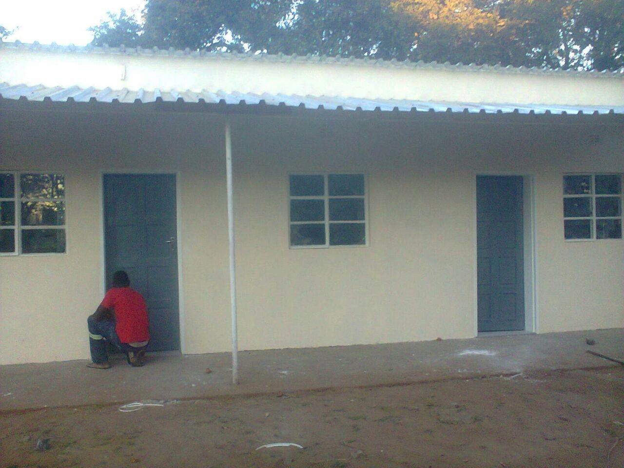 Lupane Maternity Waiting Shelter.