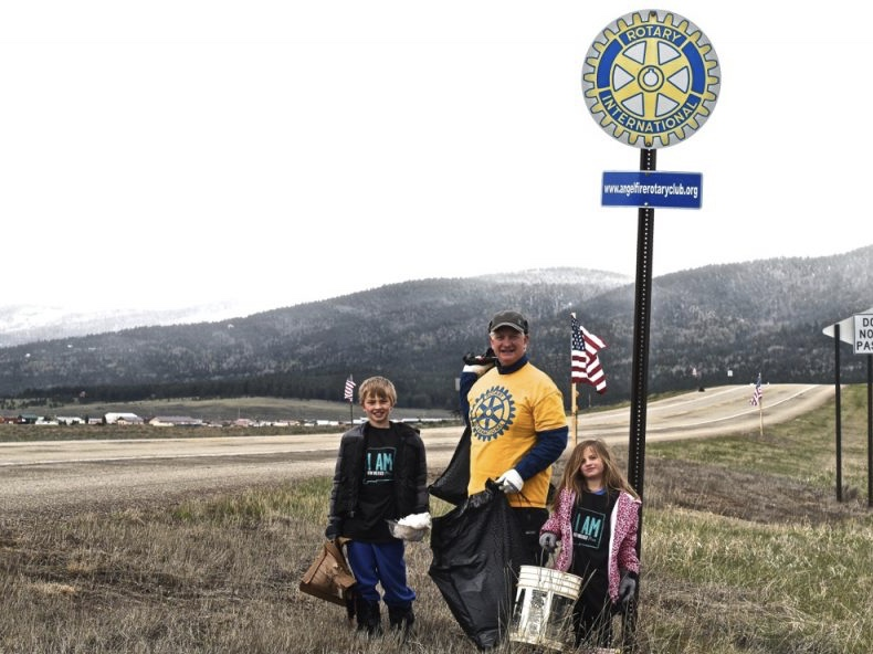 Angel Fire Clean Up on Rotary Mile