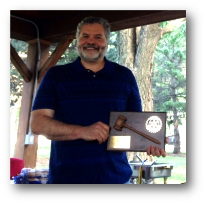 In the photo below Chuck Lubbers accepts a plaque denoting his year of service as the Club president. The plaque was presented at the Club picnic on June ...  sc 1 st  Rotary Club of Vermillion & Stories | Rotary Club of Vermillion