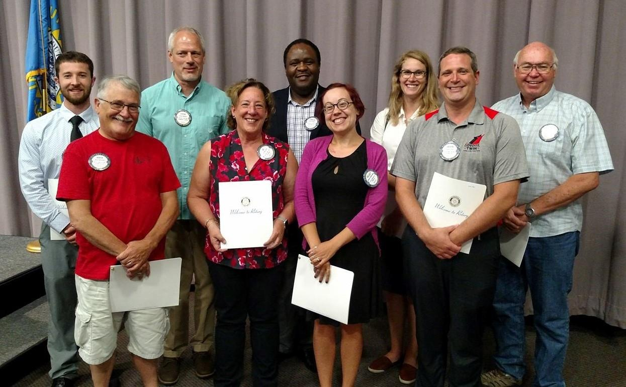 sc 1 st  Rotary Club of Vermillion & New Vermillion Rotarians Officially Welcomed | Rotary Club of Vermillion