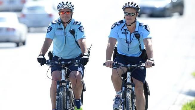 Uniforms for Vic. Police Bike Patrol