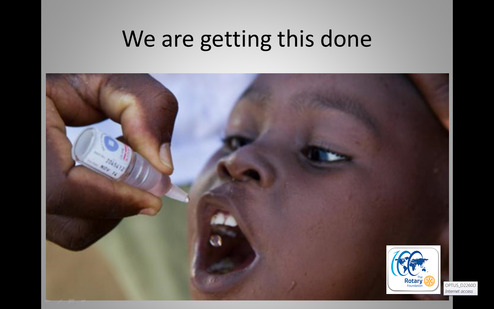 End Polio only two countries to go!