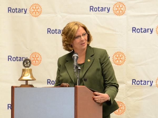 Mayor Nancy McFarlan